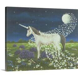 Solid-Faced Canvas Print Wall Art entitled Magic