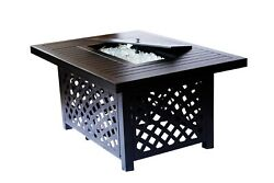 2nd Shade Minnetonka Propane Fire Pit Table for Outdoor Patio