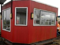 Concession StandCoffee Stand Or Storage Shed  Tiny House Shell 10x14x10 height