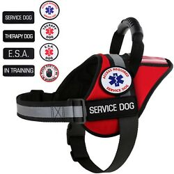 Service Dog - Therapy Dog - ESA Dog - Vest Waterproof Harness ALL ACCESS CANINE™ $39.95