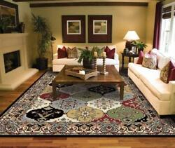 Luxury Turkish Traditional Multi Color 8x11 Rugs 4x6 2x8 5x8 Bedroom Rugs $99.98