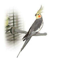 K&H Pet Products Bird Thermo-Perch Gray 10.5