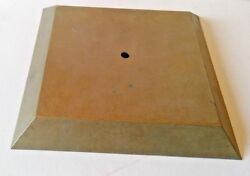 SQUARE LAMP FLOOR BASE or SCONCE BACK OR CANOPY 9 5 8quot; SQUARE $28.50