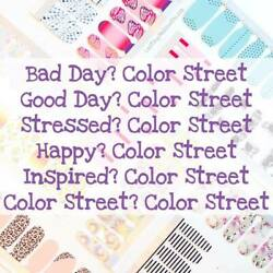 COLOR STREET Nail Polish Strips- No SHIPPING! Most $10 (Updated 92119)