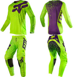 FOX 360 ADULT CAUZ YELLOW 2017 MOTOCROSS KIT JERSEY PANT DOWNHILL BMX NOT FLY GBP 99.99