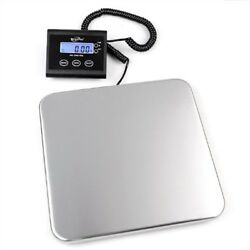Shipping Scale Digital WeighMax Industrial Postal Floor Weight Electronic 330lb $69.99