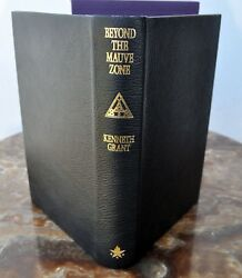 Beyond Mauve Zone Full Leather Lettered Ed C7 Kenneth Grant Qliphoth Grimoire