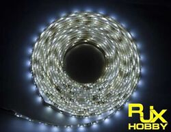 RJX Night Flight LED Wire 1M White for FPV For RC Airplane Helicopter Drones $6.74