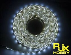 RJX Night Flight LED Wire 1M White for FPV For RC Airplane Helicopter Drones $8.99