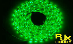 RJX Night Flight LED Wire 1M Green for FPV For RC Airplane Helicopter Drones $6.74