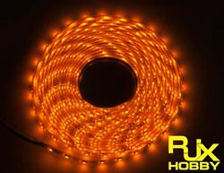 RJX Night Flight LED Wire 1M Yellow for FPV For RC Airplane Helicopter Drones $6.74
