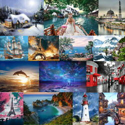 Paint By Numbers Kit Oil Painting Digital On Linen Home Wall Decor Tree Car DIY