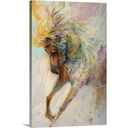 Solid-Faced Canvas Print Wall Art entitled Magical