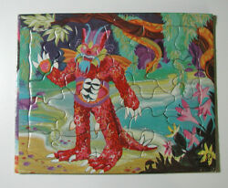 THE SHE-CREATURE Rare Grail Monster Puzzle Vintage Complete EX SIFO 1966