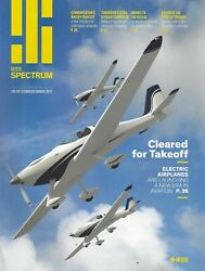 IEEE Spectrum For the Technology Insider Sep 2017 Electric Planes Drones F9 $4.98