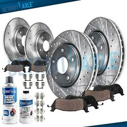 Front & Rear DRILLED Brake Rotors + Ceramic Pads for Acura TSX Honda ACCORD $122.79