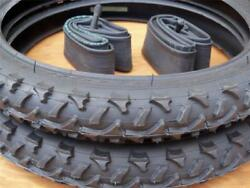 Kids Bicycle Tires and Tubes 16x2.0 Fits 1.75 16x1.95 2.125 Black 16quot; bike $59.95