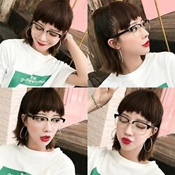Generic Korean version of the plain mirror women girls lady personality and a ha