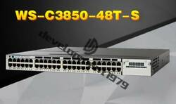 New WS-C3850-48T-S Cisco 3850 Switch with Dual Power Supply Qty Available