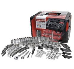 Craftsman 450 Piece Mechanics Tool Set W Case Wrenches SAE Metric 268 298 NEW $265.88