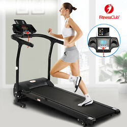 2HP Folding Treadmill Electric Motorized Power 12KM H Running Fitness Machine $239.99