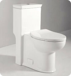 Fresca FTL2377 Apollo One-Piece Contemporary Toilet