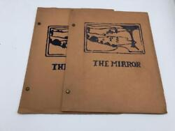 The Mirror 1926 Broadview Camp for Girls Sharon Connecticut Newsletter 2 Issues