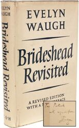 WAUGH Evelyn - Brideshead Revisited - REVISED EDITION - PRESENTATION COPY !