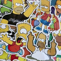 The Simpsons Stickers Supreme Simpson Skate Skateboard Cell Laptop Bumper Decal