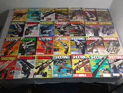 Lot of 82 SHOOTiNG TIMES Guns Magazine 70s 80s Back Issues ++ Handloader Journal