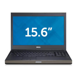 Dell Precision M4800 Intel i7 Quad 2.7GHz multi choice RAM & HDD Windows 7 or 10