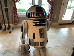 Life Size Star Wars R2D2 Prop Remote Control Full Movement Lights And Sounds