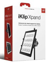 IK Multimedia iKlip Xpand - Universal Mic Stand Support for iPad