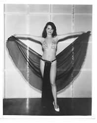 Unknown Burlesque Exotic Dancer Stripper 1950s60s risque orig photo 8x10  $5.99