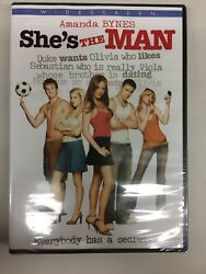 She's the Man (DVD 2013)**New Free Shipping **