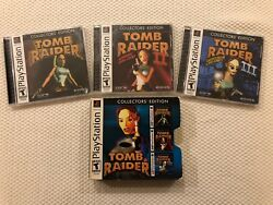 Tomb Raider Collector's Edition * Trilogy Box * ( Sony PlayStation )PS1Complete