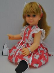 VINTAGE 1960'S HARD FACE BLONDE PIGTAIL CHATTY CATHY SHE HAS BEEN RESTORED (SPE