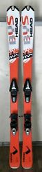 135 cm Head BYS skis bindings womens 6.5 or 7 boots optional Leki poles $79.99