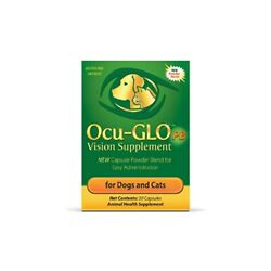 Ocu Glo PB Vision Supplement Capsule Powder Blend for Dogs and Cats 30ct $30.00