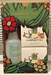 Merrill's Organics All Natural Compost Tea Starter Kit Planet Food Fertilizer $17.95
