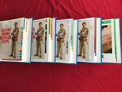 COMPLETE SET - Easy Home Repair - Step-By-Step Guide To Do-It-Yourself 5 Books