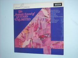 The Fantastic Sound Of GUITARS UNLIMITED LP 1970 Easy Listening PSYCH Pop