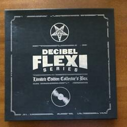 DECIBEL Flexi Series Collector's Box with 20 Flexis Electric Wizard Watain Tombs