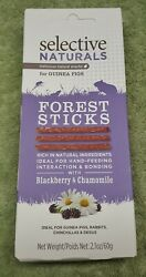 Supreme Selective Naturals Forest Sticks 2.1 oz Treats Guinea Pigs Rabbits Degus $9.95