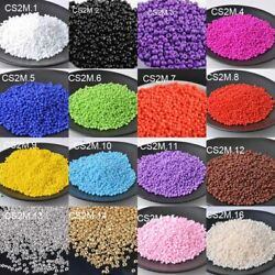 1000pc 16g 2mm Solid Color Round Loose Czech Glass Beads DIY Jewelry Making Bead $0.99