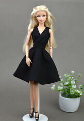 Black Little Dress Doll Dresses Classical Evening Dress Clothes for 11.5quot; Doll $4.92