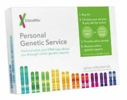23andMe Personal Genetic Service Saliva Collection Kit EXP 6062020