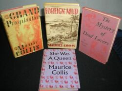 Maurice Collis~Vintage 4 Hbdj Lot~UK Pressings~Foriegn Mud;She Was A QueenEtc.