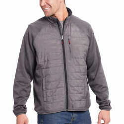 Orvis Men's Sno-Bird Mixed Media Hybrid Jacket - Charcoal Gray Many Sizes New