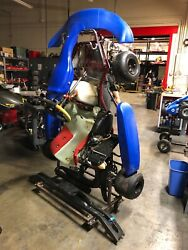 ITALKART 125cc TAG Go Kart (Blue) Excellent Condition